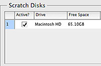 how to clear scratch disks mac